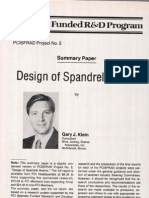 Design of Spandrel Beams, G.J. Klein
