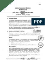 ESPECIFICACIONES TÉCNICAS I.E. 86054
