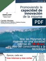 Promoviendo la capacidad de innovación de las Mipyme