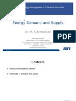 Lecture 03 EnergyDemandandSupply