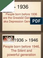 Generations Xyz