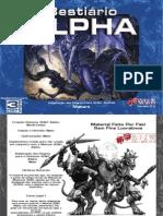 3d&t alpha - bestiário - taverna do elfo e do arcanios