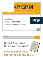 SAP CRM Evaluation