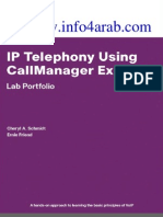 IP Telephony Using CallManager Lab Portfolio
