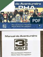 3d&t Alpha - Manual Do Aventureiro - Taverna Do Elfo e Do Arcanios