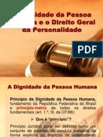 Apresentação Dignidade Humana e Direitos da Personalidade