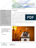 LTI Newsletter - Mar 2011