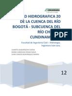 1 Informe Cuenca Checua