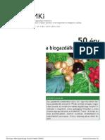 50 Érv a Biogazdálkodás Mellett
