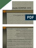 Resolução CONFEA-CREA 1.010