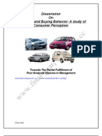 Car Market and Buying Behavior-(Www.final-yearprojects.co.Cc)