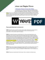 Cómo Masterizar con Plugins Waves