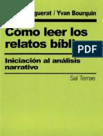 Marguerat, Daniel - Como Leer Los Relatos Biblicos