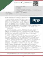 Norma general de participacion ciudadana del Servicio Nacional del Consumidor, Sernac, agosto 2011