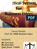 Practical System for Business Ethics_2003_2