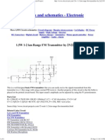 1.5W 1-2 Km Range FM Transmitter by 2N2219_ Circuit Project