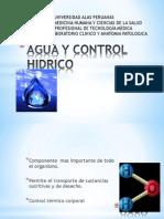 Agua y Control Hidrico