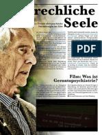 Dossier Gerontopsychiatrie
