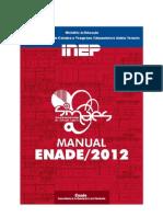 Manual Enade 2012