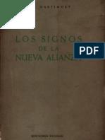 Martimort, Aime Georges - Los Signos de La Nueva Alianza