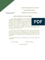 Carta Final Clubes
