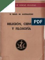 Masi, r - Religion Ciencia y Filosofia
