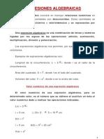 Expresiones Algebraicas DANY