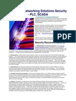 PLC SCADA Network Securty