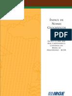 Indice Nomes Geograficos