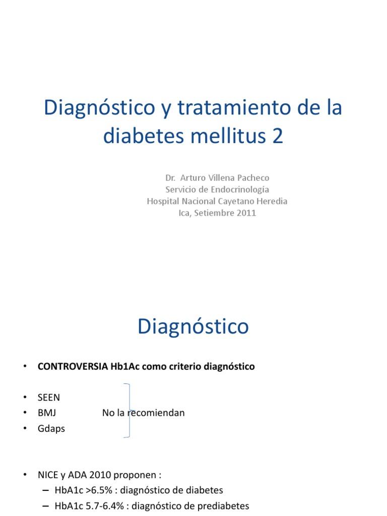¿Puede hba1c utilizarse para el diagnóstico de diabetes?