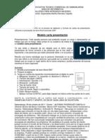 Modelo carta presentación