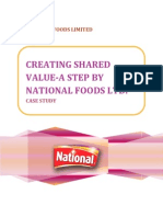 National Foods Limited Case Study.