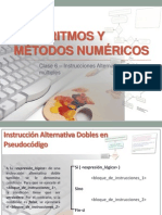 Clase 6 - Instrucciones Alternativas - Dobles (1)