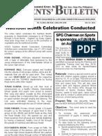 Parents Bulletin No. 5, s. 2012