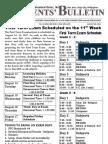 Parents Bulletin No. 6, s. 2012