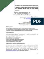 sociología política VIII mov.soc. 2012-O PROGRAMA