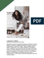 Biografia Carolina Aubele