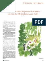 La nueva narrativa hispánica de América