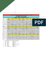 2012 D1A JRMICO Schedule