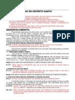 DEVOCIONAL.CHEIOS DO ESPÍRITO SANTO (Ef 5.18)