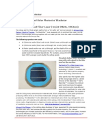Solar Application Newsletter  - The Blackstar