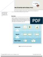 Salesforce Analytics Overview Cheatsheet