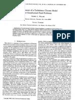 Development of a Turbulance Closure Model for Geophysical Fluid Problems - Mellor & Yamada