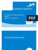Nielsen Publisher Seminar July 2012