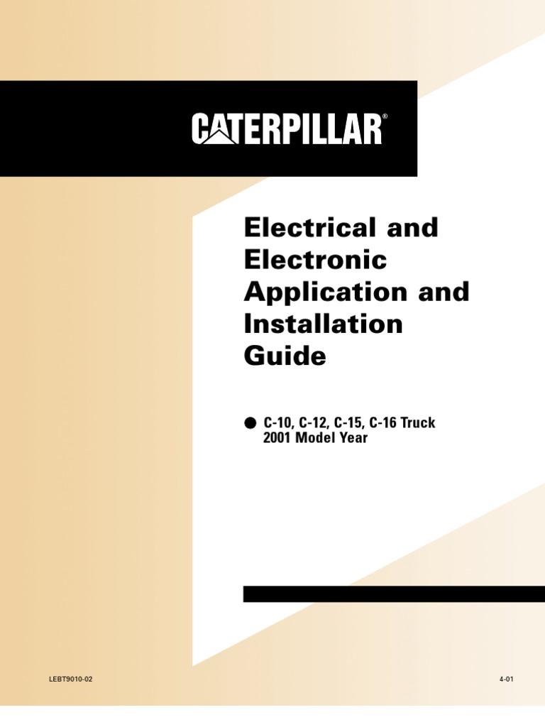 Motores Caterpillar C12 | Turbocharger | Fuel Injection