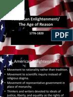 American Enlightenment and Revolutionary War