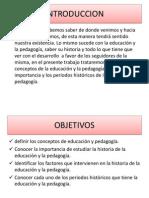Historia de la Educación y la Pedagogía