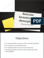 Reticular and Diencephalon 2012