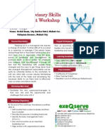 Basic Supervisory Skills Development Workshop - November 7 and 8, 2012