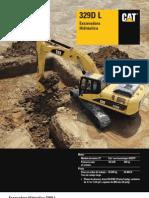 Excavadores de Orugas Specalog 329dl Espanol